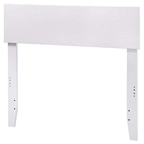 Atlantic Furniture 43.63 in. Twin Headboard in White by Atlantic Furniture