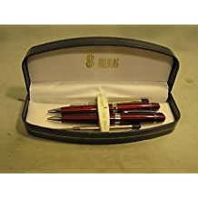 Bill Blass Cross Ball Point Pen and Pencil Set with Refills in Gift Box