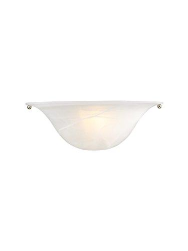 (Livex Lighting 42700-99 1 Light BZ & BN Wall Sconce Bronze & Brushed Nickel)
