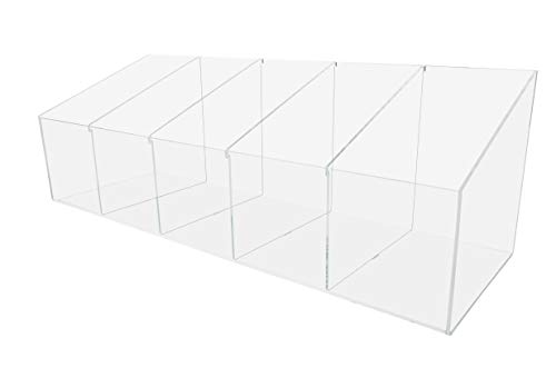 - Marketing Holders SM Countertop Display with Adjustable Divided Bin - 24
