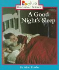 A Good Night's Sleep, Allan Fowler, 0516260812