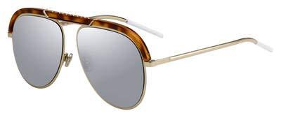 Christian Dior DIORDESERTIC 02IK Havana Gold Aviator Sunglasses for