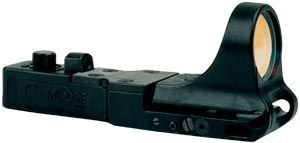UPC 649725002434, C-MORE Systems SlideRide Red Dot Sight with Standard Switch, Black, 6 MOA