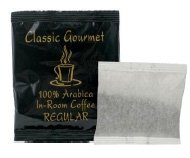 - Classic Gourmet Regular 4 Cup Coffee Filterpack for Hotels and Motels- Case of 200