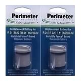 Two-Pack Dog Fence Batteries for Invisible Fence Brand Receiver Collars