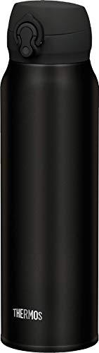 THERMOS Thermosfles Ultralight 4035232075, Extra Licht, 0,75 liter, 10 Uur Warm, 20 Uur Koud, RVS Mat Zwart