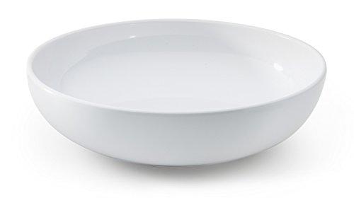 G.E.T. Enterprises B-49-DW-EC Melamine Bowls (Pack of 4), 1.9 Quart, Diamond White