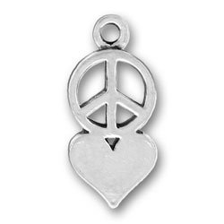 Peace Sign and Love 'Heart
