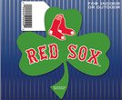 MLB Boston Red Sox 68113091 Die Cut Magnet, Small, Black