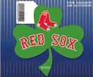 WinCraft MLB Boston Red Sox 68113091 Die Cut Magnet, Small, Black