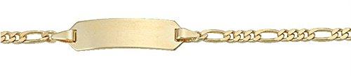Bracelet ID en or jaune 333