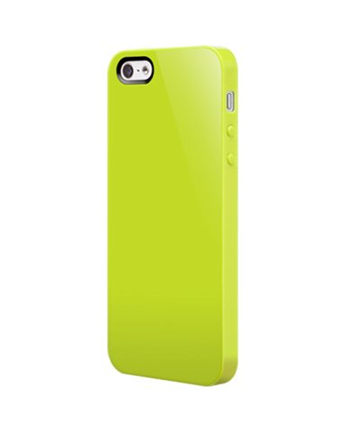 new concept 30fe3 af87f SwitchEasy SW-NUI5-L Nude Slim Case for iPhone SE , iPhone 5 and iPhone 5s  - Lime
