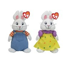 d33709c5d4f Image Unavailable. Image not available for. Color  Ty Beanie Babies 8 quot   Nick Jr s Max   Ruby Set
