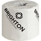 Castle Brighton (Brighton Professional 2-Ply Standard Bath Tissue; 500 Sheets/Roll, 96 Rolls/Case by BRIGHTON PROFESSIONAL)