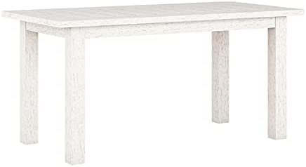 CorLiving Miramar White Washed Wood Outdoor Coffee Table