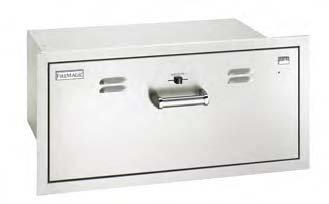 Premium Flush Mounted Masonry Drawer (Warming Drawer)
