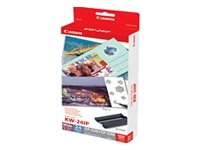 Canon Kit Di Stampa Kw-24Ip Carta + Ink 9401A001AF Carta & Pellicole