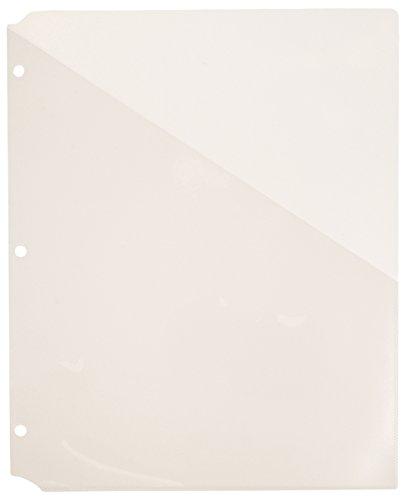 Pocket Clear Folders (Avery Binder Pockets, Clear, 8.5