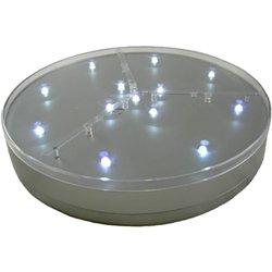 E-Luminator Light Base 8-Inch Battery Operated 13 White LED ()