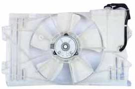 2003-2008 Toyota Corrolla Matrix 1.8L Dual Rad /& Cond Fan Assembly Fits
