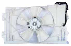 - TYC 620630 Toyota Matrix Replacement Radiator/Condenser Cooling Fan Assembly