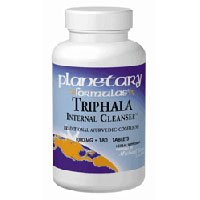 Triphala Internal Cleanser, Powder 16 Fl Oz by Planetary Herbals (Pack of 3) by Planetary Herbals