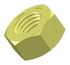 Grade 8 Hex Nuts, 11/8'-7 - (Pack of 5)
