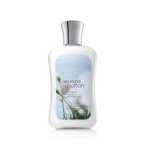Bath & Body Works, Signature Collection Body Lotion, Sea Island Cotton, 8 Ounce