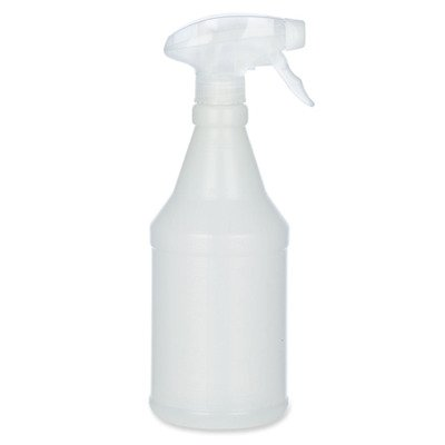SKILCRAFT 8125-01-577-0210 Recyclable Plastic Trigger Spray Bottle, 24 fl oz Capacity, 7-7/8