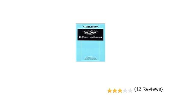 Engineering mechanics dynamics study guide volume 2 j l engineering mechanics dynamics study guide volume 2 j l meriam l g kraige 9780471190998 amazon books fandeluxe Gallery