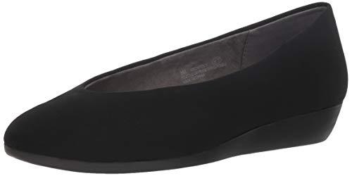 Aerosoles Women's Architect Ballet Flat, Black Fabric, 8.5 M US
