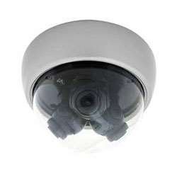 Everfocus E3D2412MPXW Indoor Multiview 3 in 1 Dome Camera, 560TVL Horizontal Resolution, 3-Axis Plastic Housing, White