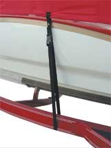BoatBuckle Snap-Lock Boat Cover Tie-Down, 6-Pack, 1-Inch x 4-Feet