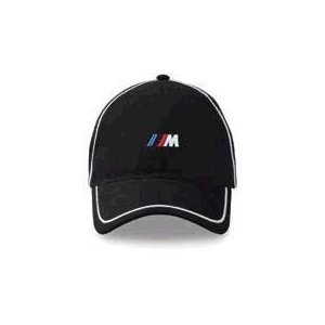 BMW Genuine M Cap Structured Six-panel brushed nylon - Black