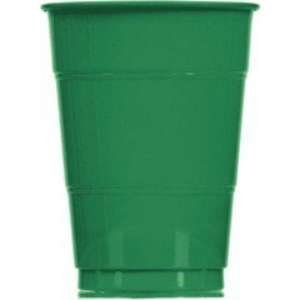 Festive Green Plastic Cup 12oz 20ct [Contains 1 Manufacturer Retail Unit(s) Per Amazon Combined Package Sales Unit] - SKU# 43036.03