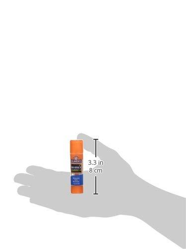 Elmer's Disappearing Purple School Glue Sticks with Bonus Clear Glue Stick| Washable, Glue Sticks for Kids | School Supplies | Scrapbooking Supplies | Vision Board Supplies, 7 Count