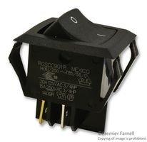 5 pieces BLACK 20A ROCKER CARLING TECHNOLOGIES RGSCC901-R-B-B-E SWITCH DPDT 250V