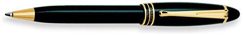 Aurora Ipsilon Resin Black Ballpoint Pen - - Pen Ballpoint Aurora