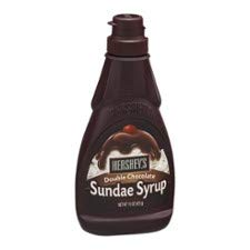 Hershey's Sundae Syrup, Double Chocolate (Pack of 4) by HERSHEY'S (Image #1)