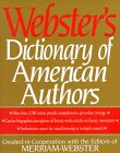 Webster's Dictionary of American Authors, Merriam-Webster, Inc. Staff, 0831771585