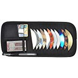Car Sun Visor Organizer CD Clip Storage -12