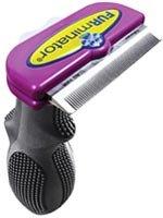 FURminator deShed Tool Cat Lrg/Purple Short Hair, My Pet Supplies