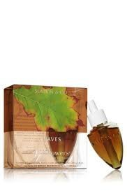 (Bath & Body Works Leaves Wallflowers Home Fragrance Refills, 2-Pack (1.6 fl oz total))