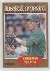 2011 Heritage Card - Christian Yelich (Baseball Card) 2011 Topps Heritage Minor League Edition - [Base] #243