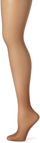 (Hanes Women's Control Top Sheer Toe Silk Reflections Panty Hose, Gentle Brown, E/F )