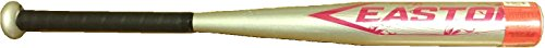 Easton 25 in / 15 oz T-Ball Bat (Silver/Pink) by Easton
