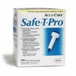 Roche Safe-T-Pro Fixed Depth Lancet Needle 1.8 mm 23 Gauge