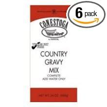 Amazon.com : Conestoga Country Gravy Mix, 24 Ounce - 6 per case ...