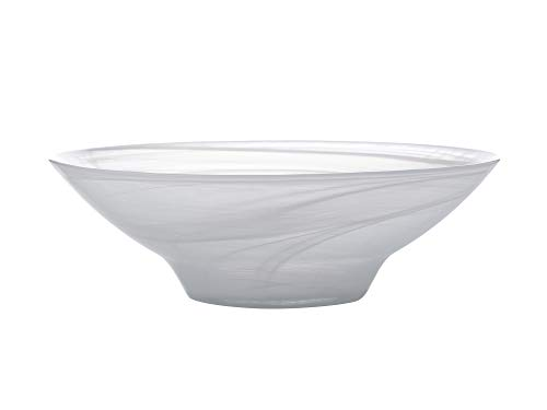 Swirl Alabaster Bowl (Maxwell Williams GG0077 Marblesque Small Serving Dish/Salad Bowl with Alabaster Swirl Effect)