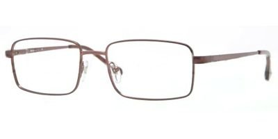 glass Frames 355-55 - Matte - Dark Brown Frame, Demo Lens SF2248-355-55 ()